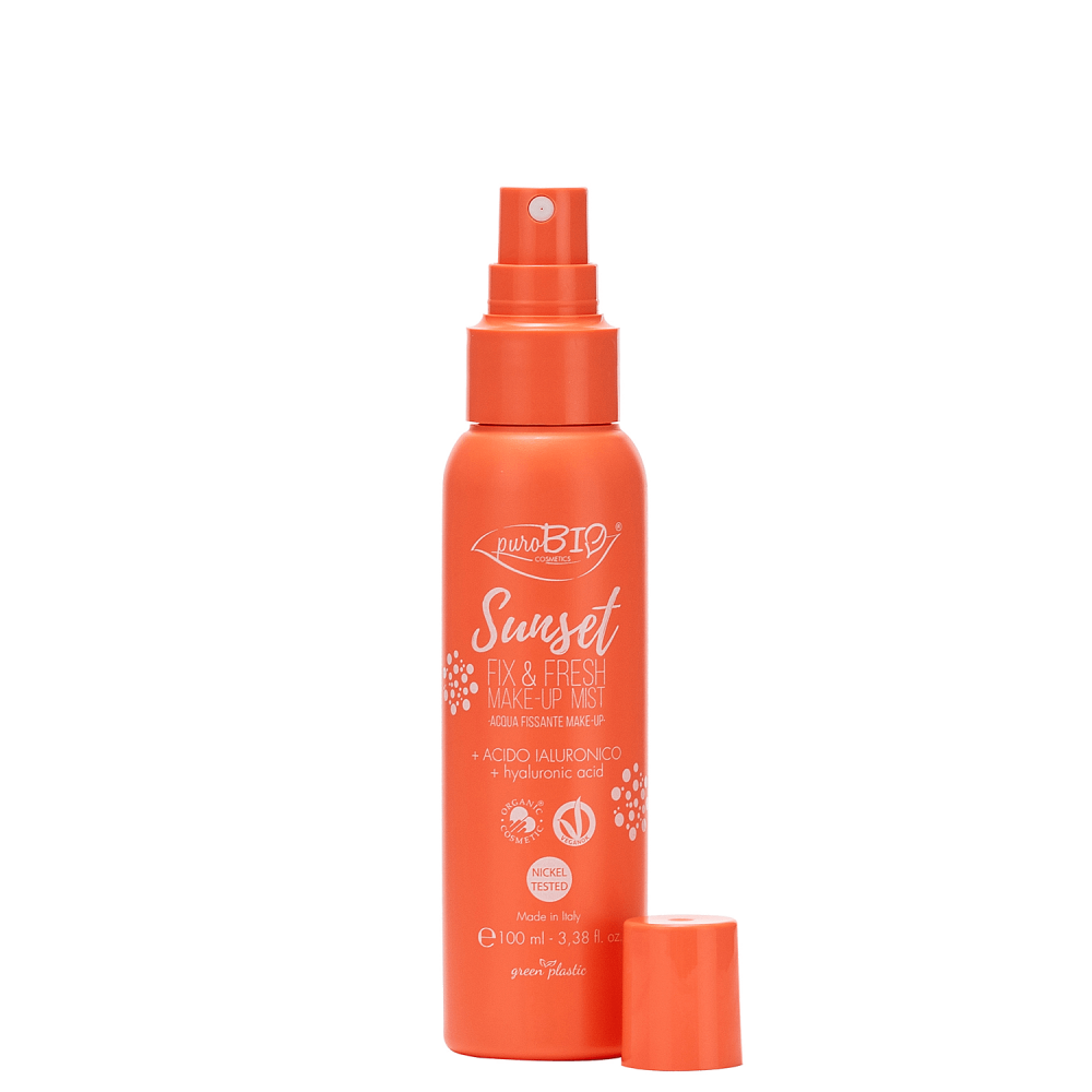 purobio sunset FIX&FRESH MAKE-UP MIST