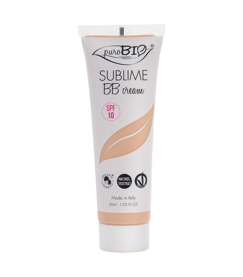 SUBLIME BB CREAM 1 SPF 10 purobio cosmetics